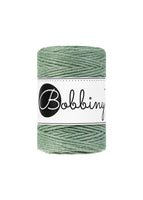 Bobbiny 1.5mm EUCALYPTUS Single Twist Macrame Cord 100m