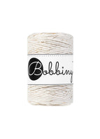 Bobbiny 1.5mm GOLDEN NATURAL Single Twist Macrame Cord 100m