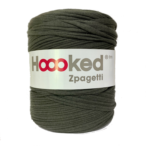 Hoooked Zpagetti T-Shirt Yarn HUNTER GREEN