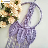 Bobbiny 5mm LAVENDER Single Twist Macrame Cord 100m