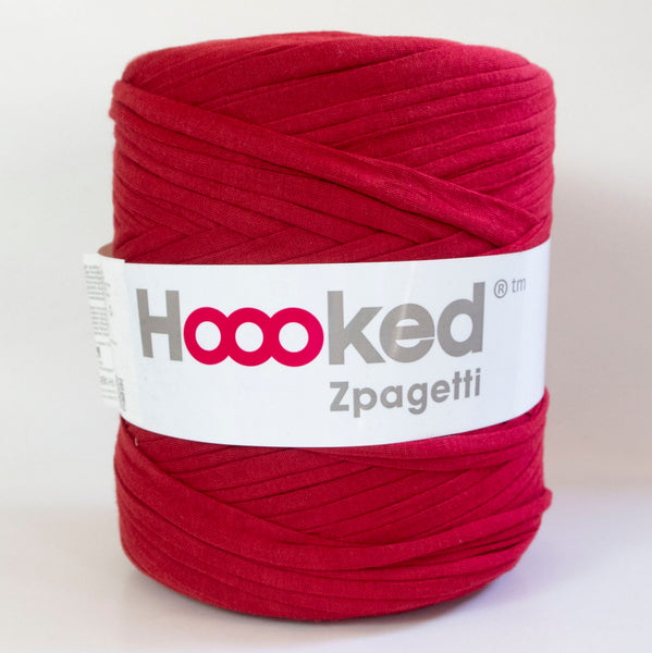 Hoooked T-Shirt Yarn CRIMSON