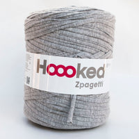 Hoooked T-Shirt Yarn GREY FLIGHT