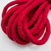 Chubby Felted Merino Wool CHERRY 10m