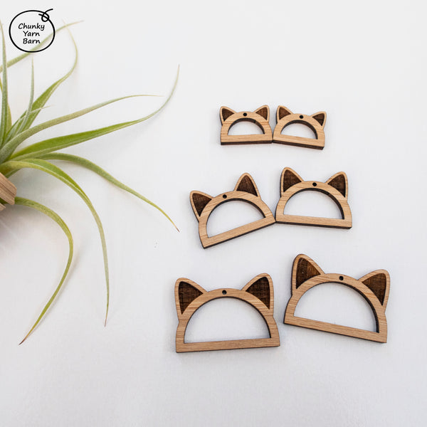 Bamboo Earring Frames - Semi KITTY