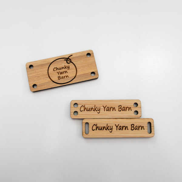 Custom Bamboo Tags RECTANGLE