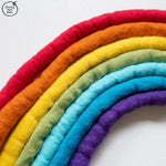 Chubby Felted Merino Wool RAINBOW Pack