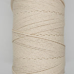4ply 3mm NATURAL Macrame Cord 400m