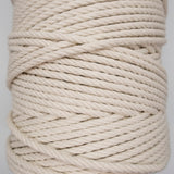 4ply 5mm NATURAL Macrame Cord 150m