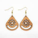 CHERRY Earrings Macrame Frames PETALS Range