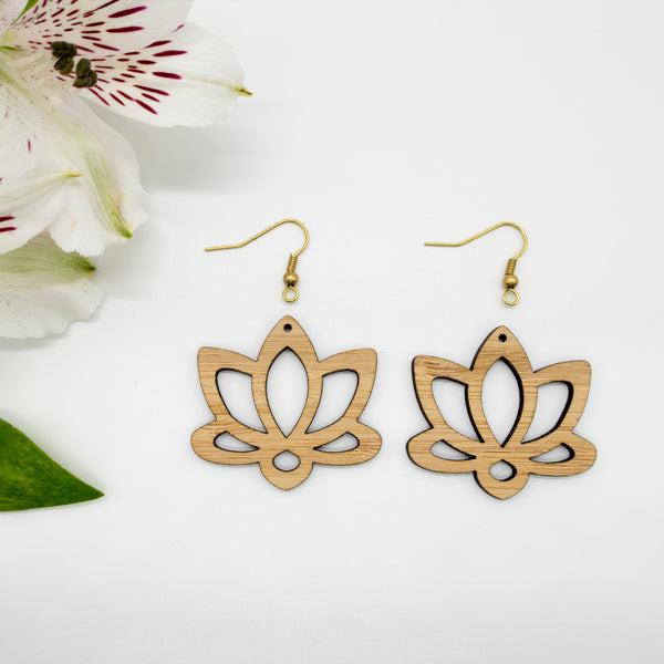 Earrings LOTUS Pair