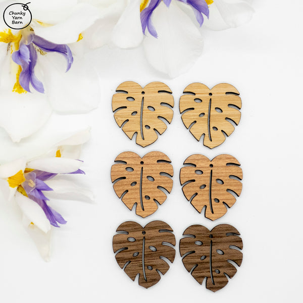 Earrings MONSTERA Pair