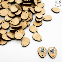 TIMBER Earring Stud Pads Pair