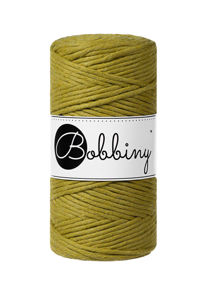 Bobbiny 3mm KIWI Single Twist Macrame Cord 100m