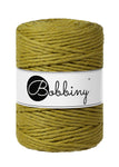 Bobbiny 5mm KIWI Single Twist Macrame Cord 100m