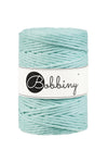 Bobbiny 5mm MINT Single Twist Macrame Cord 100m LAST ITEMS!