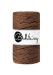 Bobbiny 3mm MOCHA 3ply Macrame Cords 100m LAST ITEMS!