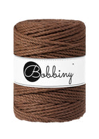 Bobbiny 5mm MOCHA 3ply Macrame Cord 100m LAST ITEMS!