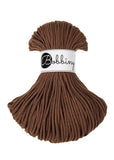 Bobbiny 3mm MOCHA Braided Cord 100m