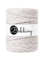Bobbiny 5mm MOONLIGHT 3ply Macrame Cord 100m