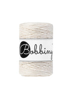 Bobbiny 1.5mm NATURAL Single Twist Macrame Cord 100m