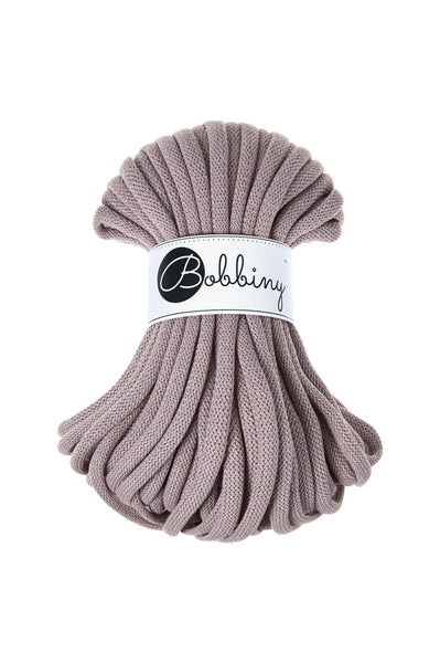 Bobbiny Jumbo 9mm PEARL Braided Cord 10m