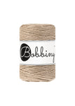 Bobbiny 1.5mm SAND Single Twist Macrame Cord 100m