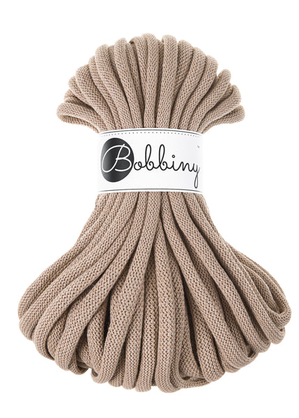 Bobbiny Jumbo 9mm SAND Braided Cord 10m