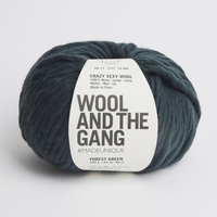 WATG Crazy Sexy Wool FOREST GREEN