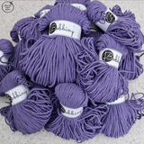 *Bobbiny 3mm ULTRAVIOLET Cotton Cord 100m