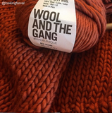 *WATG Crazy Sexy Wool RED OCHRE discontinued