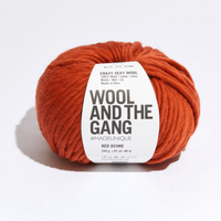 WATG Crazy Sexy Wool RED OCHRE