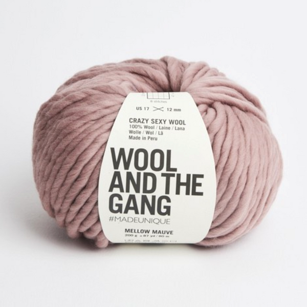 WATG Crazy Sexy Wool MELLOW MAUVE