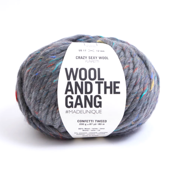 WATG Crazy Sexy Wool FUNFETTI CONFETTI TWEED
