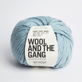 WATG Crazy Sexy Wool DUCKEGG BLUE