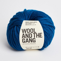 WATG Crazy Sexy Wool CURASAO BLUE