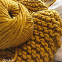 WATG Crazy Sexy Wool MUSTARD SALLY