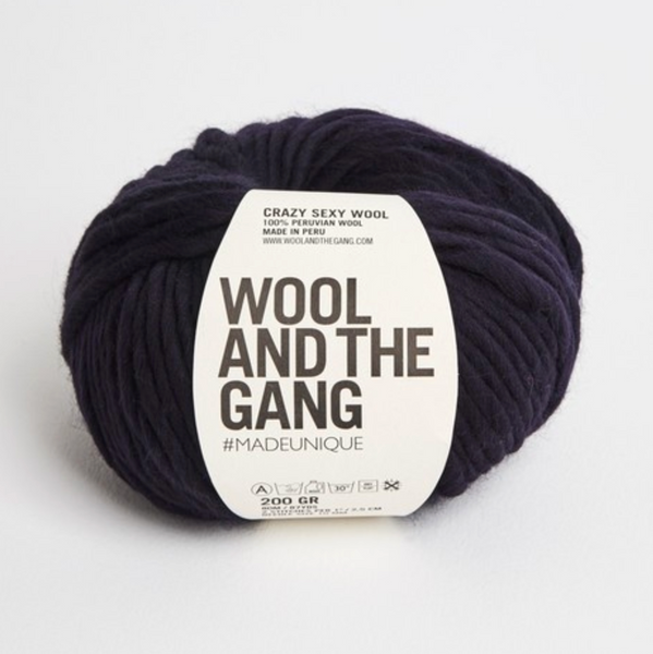 WATG Crazy Sexy Wool MIDNIGHT BLUE