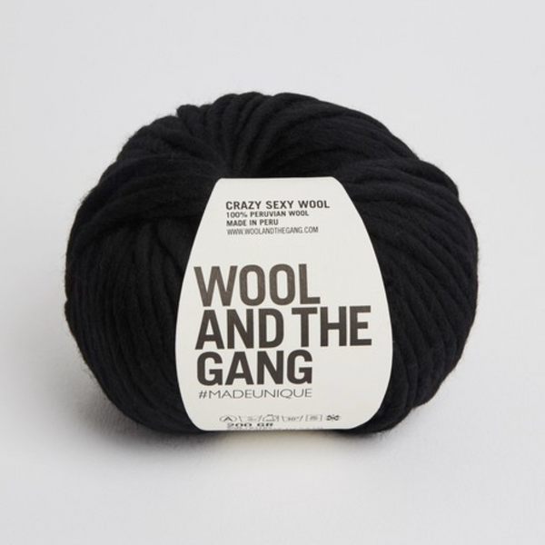WATG Crazy Sexy Wool SPACE BLACK
