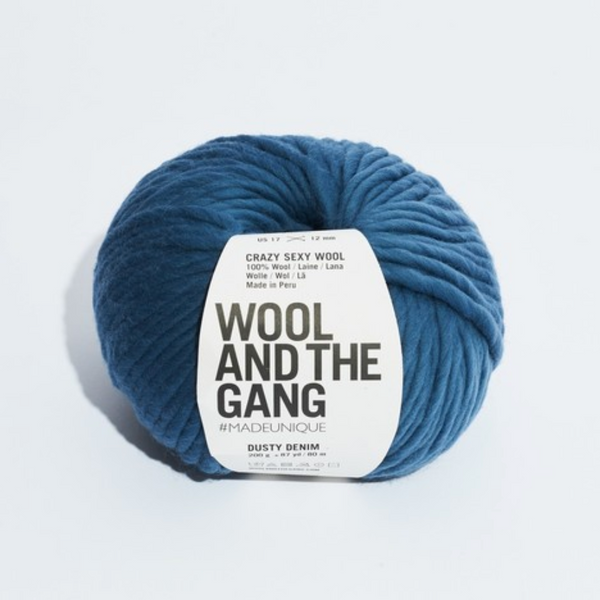 WATG Crazy Sexy Wool DUSTY DENIM
