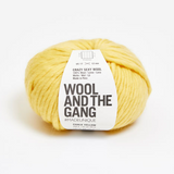 WATG Crazy Sexy Wool CHALK YELLOW
