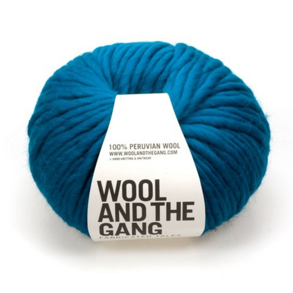 WATG Crazy Sexy Wool SHERPA BLUE