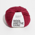 WATG Crazy Sexy Wool TRUE BLOOD RED