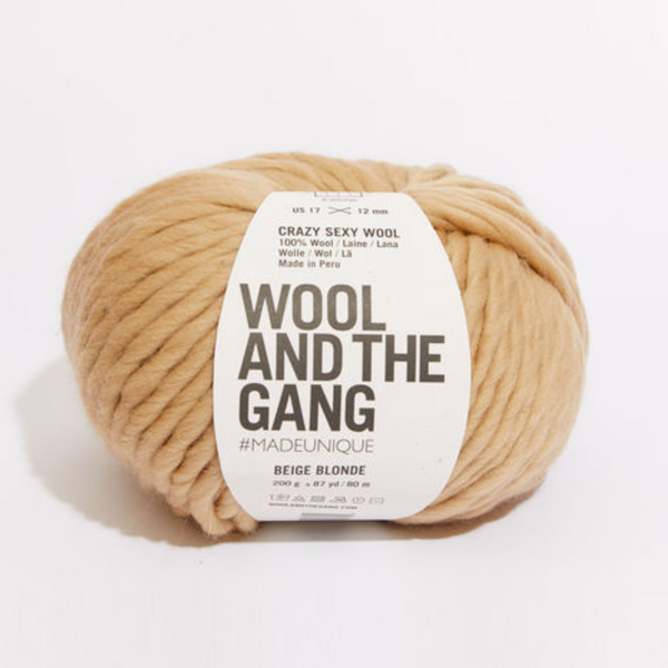 WATG Crazy Sexy Wool BEIGE BLONDE