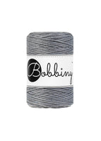 Bobbiny 1.5mm STEEL Single Twist Macrame Cord 100m