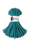 Bobbiny Jumbo 9mm TEAL Braided Cord 10m