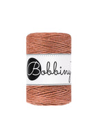 Bobbiny 1.5mm TERRACOTTA Single Twist Macrame Cord 100m