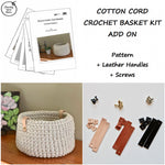 Cotton Cord Crochet Basket Kit - Add On