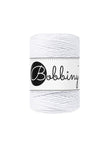 Bobbiny 1.5mm WHITE Single Twist Macrame Cord 100m