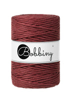 Bobbiny 5mm WILD ROSE Single Twist Macrame Cord 100m