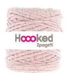 Hoooked T-Shirt Yarn Stracciatella Strawberry
